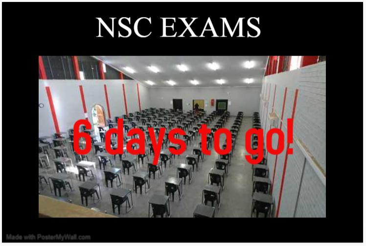 6 days to go